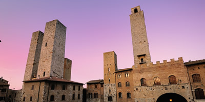 Typical events near San Gimignano