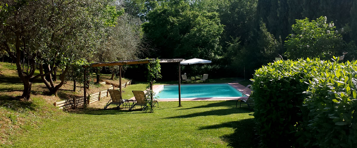 B&b with pool near San Gimignano - Villa Baciolo